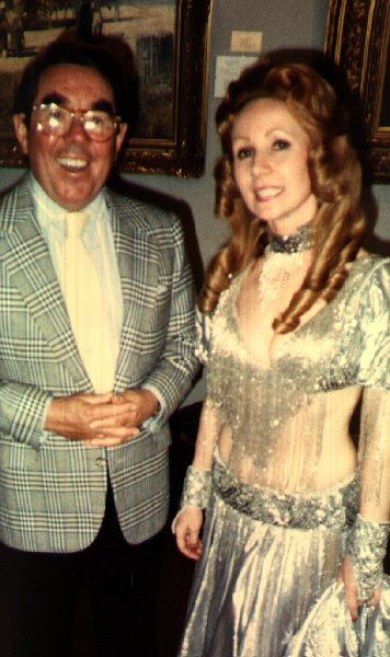 Jacqueline Chapman with Ronnie Corbett
